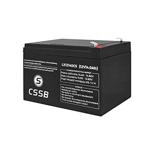 CSSB batterie à gel, AGM, accumulateur de gel, 12.0V