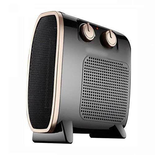 Konvektorenheizung 1500W Elektrisch Mit Thermostat 3 Heizstufen Portable Freistehend Mit Sicherheitstemperaturbegrenzung,Black-22.5cm*10cm*24.5cm