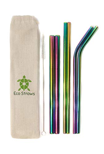 ECO Friendly - Reusable Stainless Steel Straws for Tervis RTIC and More!