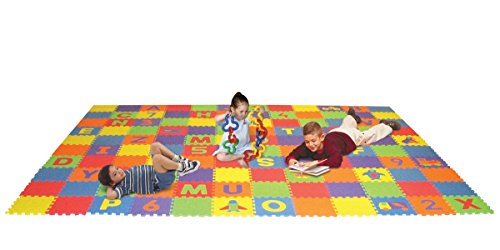 Edushape Letters, Numbers, and Puzzles Play Mat Set