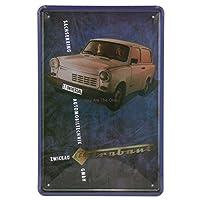 キューバみすぼらしい金属錫サイン金属ポスター車バスモーテル壁の装飾パブガレージのためのレトロな壁のステッカー面白い錫ポスタープラーク-20x30cm