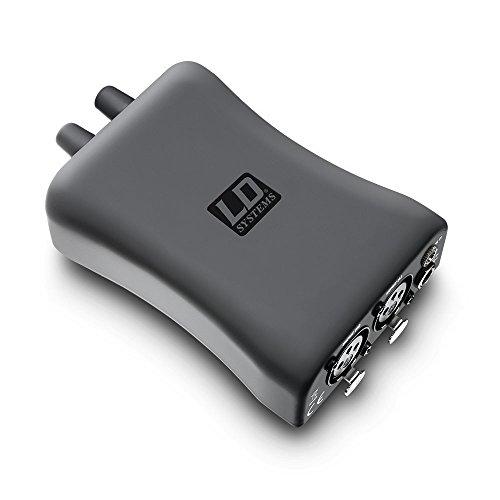 LD-systemen - model LD hpa1 - versterker voor koptelefoon en in-ear monitor met kabelgebonden