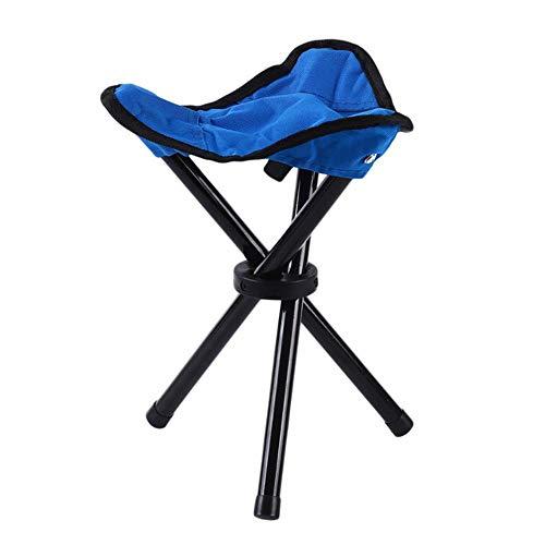 Miner Triangle opvouwbare kruk handige viskruk opvouwbare kruk driehoekige kruk stoel, blauw