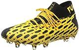 PUMA Future 5.1 Netfit FG/AG, Zapatillas de Fútbol Hombre, Amarillo (Ultra Yellow Black), 44 EU