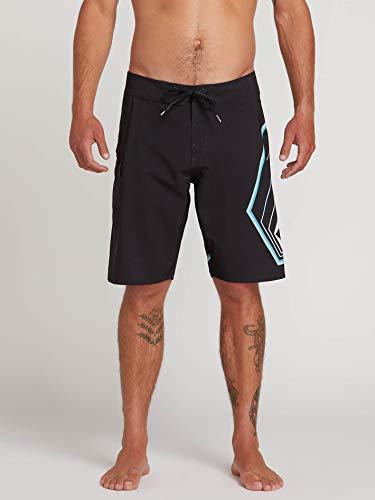 Volcom Boardshort Lido Stone Mod 21 - Hombre Surf Boardshorts - Black