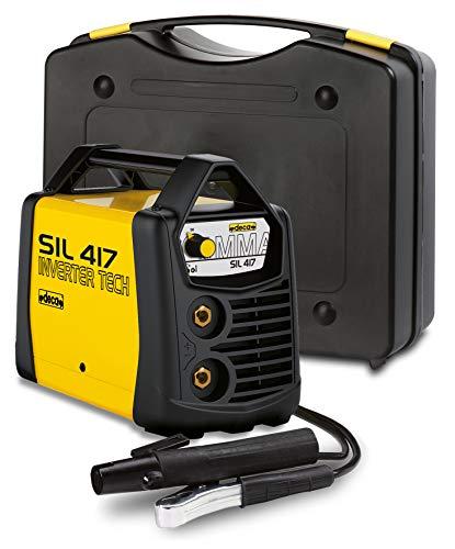 Deca 279880 Generatore Inverter per Saldatura ad Elettrodo E Tig Sil 417, Giallo