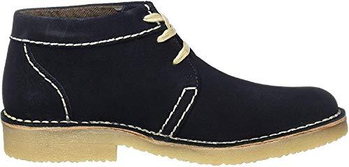 camel active Herren Havanna 13 Chelsea Boots, Blau (Midnight 17), 43 EU