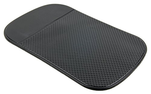 DURAGADGET High-Grade Rubber Anti-Slip Car Dashboard Pad/Mat - Compatible with The Leagoo Shark 1