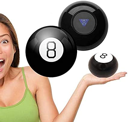 Cool Retro Toy Funny Gift Magic Mystic 8-Ball Decision Making Fortune Telling