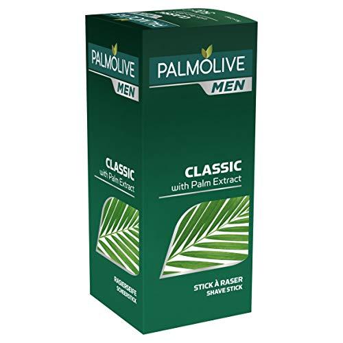 Palmolive Men Rasierseife Classic mit Palm Extrakt, 1 x 50 g - Rasierseife für normale & empfindliche Haut