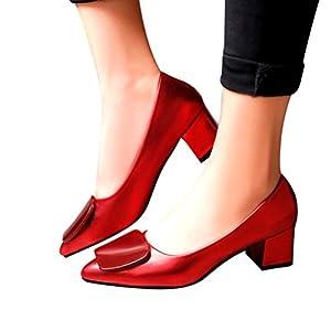 CLOOM Tacchi Alti Donna, Scarpe col Tacco Donna – High Heels Sexy – Decolte Donna Tacco Alto – Tacchi a Spillo Donna Tacco Alto Lavoro Festa Elegante Scarpe Moda