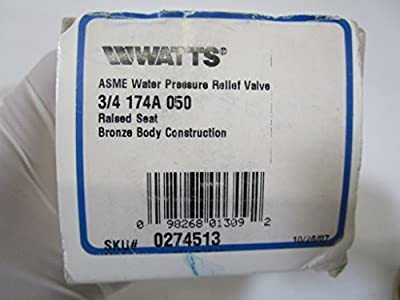 Hot Water Pressure Relief Valve 174A from WATTS WATER TECHNOLOGIES