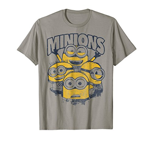 Despicable Me Minions Vintage Group Graphic T-Shirt