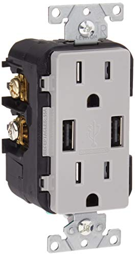 stainless steel 15 amp outlets - 9