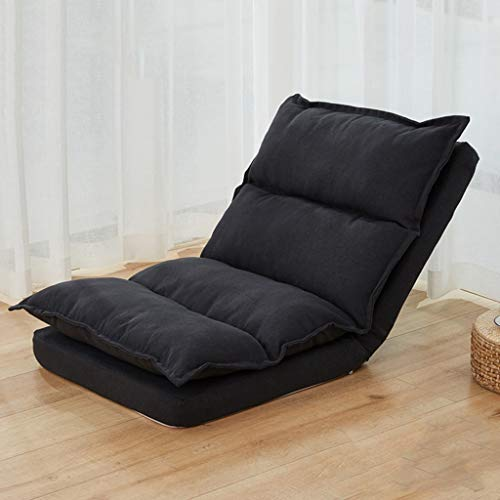 Klappstuhl mit Rückenstütze, Yoga Meditation Tatami Bodenstuhl , Outdoor Indoor Verstellbar (Color : Style 3)