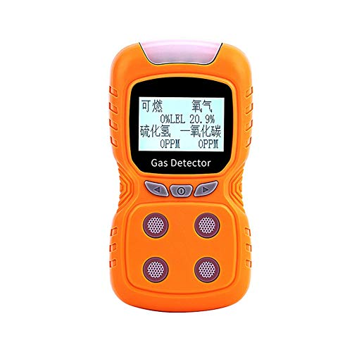 CCJW Vier-in-One-Gasmelder Alarm Tragbarer Pump-Saug-kombinierter Gasleck-Detektor