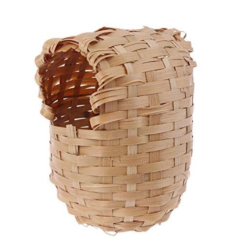 Yinuneronsty Nest aus Bambus, handgefertigt mit Haken