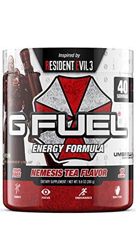 G Fuel Nemesis Tea Flavor (40 Servings) Elite Energy and Endurance Formula 9.8 oz.