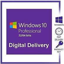 Windows 10 Pro original | 1PC | La clave de producto y el enlace de descarga se enviarán por correo electrónico o mensaje de Amazon.