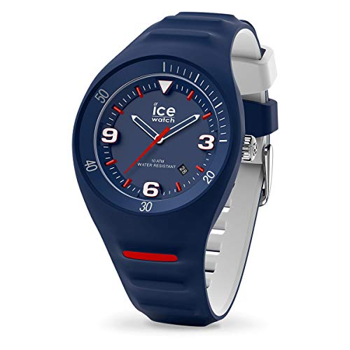 ICE-WATCH P. Leclercq Dark Blue - Reloj Azul para Hombre con Correa de Silicona, 017600 (Medium)