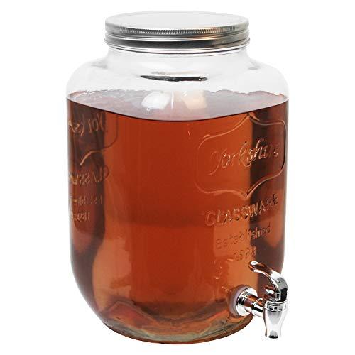 Schou Dispensador Bebida con Grifo de 8 l, 19x19x32 cm