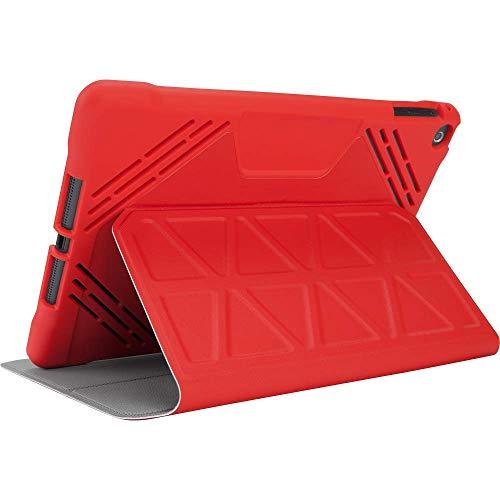 Targus 3D Schutz Schutzhülle für iPad (9,7/24,6cm Pro, schwarz (thz635gl) rot