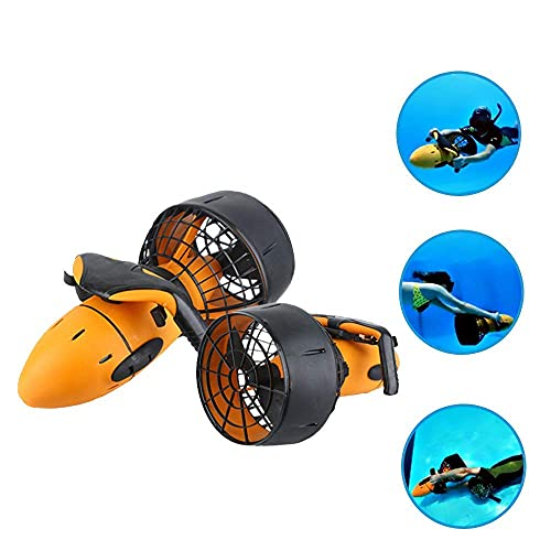 Daily Accessories Waterproof 300W Electric Underwater Scooter Water Sea Dual Speed Propeller Diving Scuba Scooter Water Sports Equipment