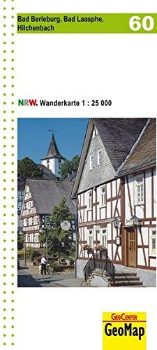 Wanderkarte Blatt 60 Bad Berleburg, Bad Laasphe, Hilchenbach 1:25 0000 (Geo Map)