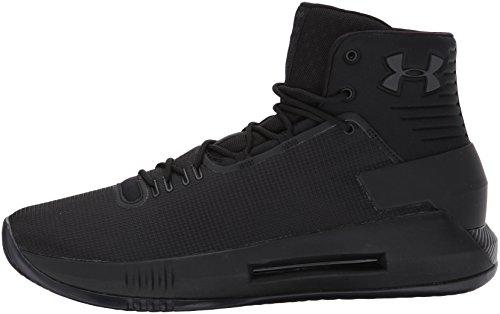Under Armour UA Drive 4 Chaussures de Basket-Ball pour Homme Blaze Orange (800)/Blanc - Noir - Noir,...