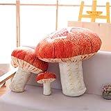 Changsun Creative Vivid 3D Mushroom Pillow Gift Plush Toys (7'(Small Size))