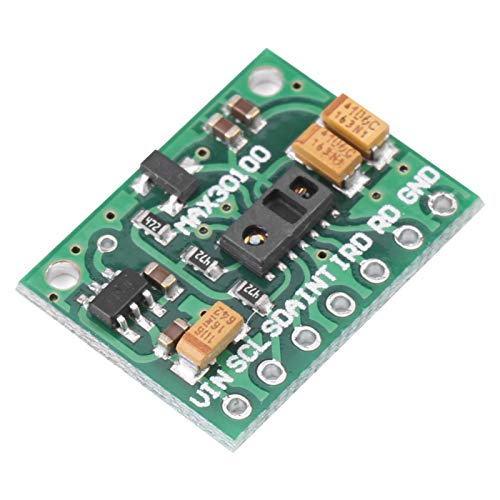 KUIDAMOS MAX30100 Heart Rate Pulse Oximeter Development Board Sensor Module with Integrated LEDs for Fitness Assistant Devices for Wearable Devices