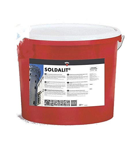Keim 1111423 Soldalit Silikatfassadenfarbe in weiß 25 kg