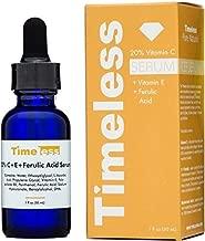 Timeless Skin Care 20% Vitamin C Plus E Ferulic Acid Serum, 1 oz by Timeless Skin Care