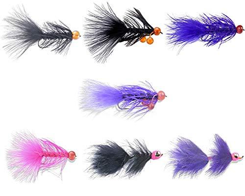 DDF Alaska Silver/COHO Salmon Fly Assortment (#06)