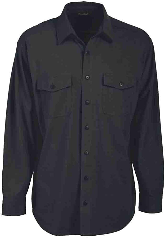 Rivers' End Mens Chamois Shirt Top Casual Shirt - Black