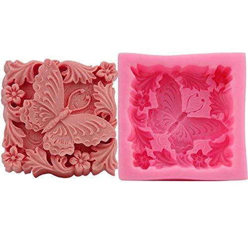 AMITD 1st 3D bloemkaarsen maken DIY tonkaarsen maken cake chocolade decoreren schimmel bakgereedschap