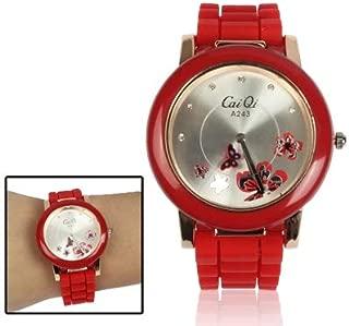 Fashion Watches Stylish Butterfly Style Quartz Wrist Watch with Diamond Dial