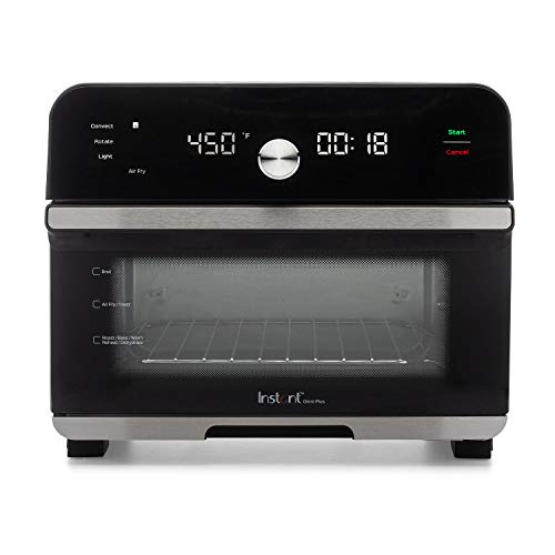Instant Omni Plus 10-in-1 Air Fryer Toaster Oven, Rotisserie Oven, Convection Oven, Dehydrator, Roaster, Warmer, Reheater, Pizza Oven, 18 Liter