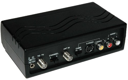 Dynex WS-007 - RF Modulator RCA/S-Video to Coax Video Converter