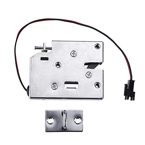 Guiping Hardware door lock K6855 12V DC 2A Electric Magnetic Intelligent Cabinet Door Lock Fail Secure with Manual Unlock Handle