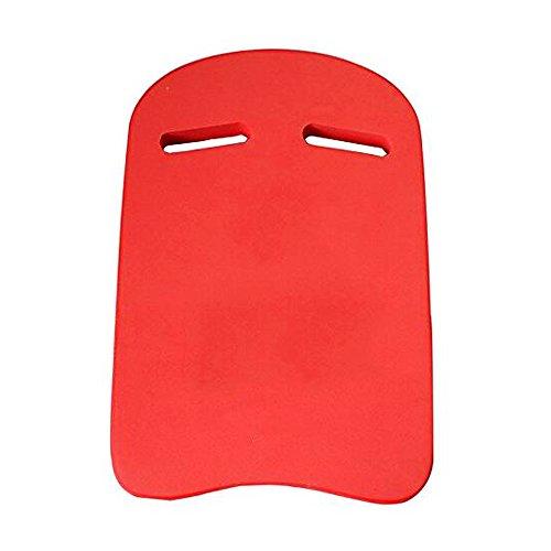Ndier Tabla de natación para niños y adultos para entrenamiento, natación y acuario deportivo, color rojo