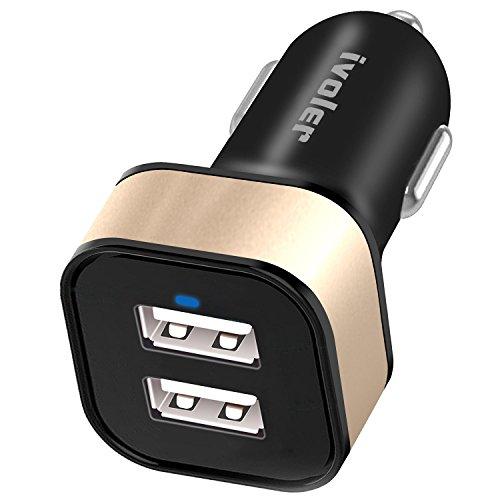 iVoler Dual Quick Charge 3.0 36W 2 Puertos USB Cargador de Coche...