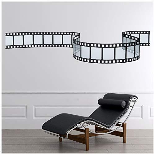 azutura Filmrolle Film Kino Wandtattoo in 8 Größen erhältlich Digital