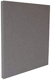 ATS Acoustic Panel 24x24x2, Fire Rated, Square Edge, Warm Grey Color