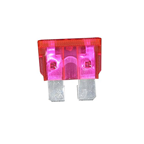 10 PCS 50A Medium size Auto fuse, Automotive Fuses Blade,The fuse Insurance insert The insurance of xenon lamp piece Lights Fuse