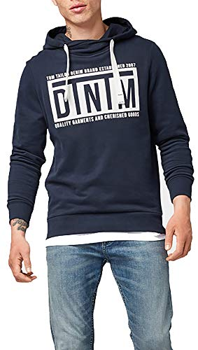 TOM TAILOR DENIM heren Nos Sweat Hoody capuchontrui
