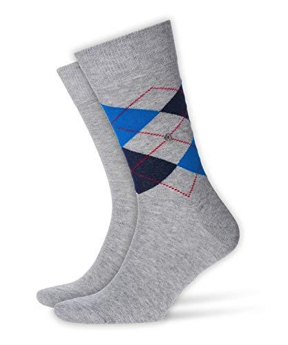 Burlington Herren Socken, Everyday Mix M SO, 2 Paar, Grau (Light Grey 3400), 40-46