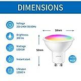 Zoom IMG-1 anwio lampadina led gu10 da