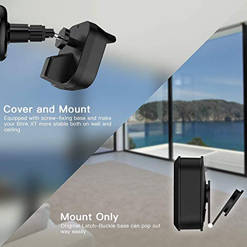 Wall Mount Bracket for All-New Blink Outdoor, Weather Proof 360 Degree Protective Adjustable Indoor/Outdoor Mount and Cover Compatible for All-New Blink Outdoor Home Security Camera(3 Pack)