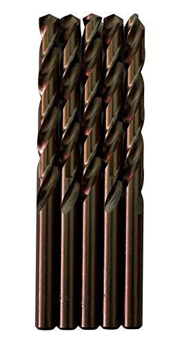 Broca para metal HSS DIN M35 cobalto de 8 mm (paquete de 5 unidades)